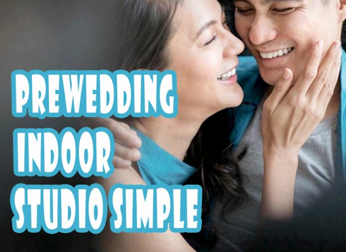 10 Foto Prewedding Indoor Studio Simple