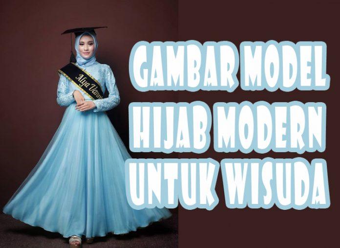 Gambar Model Hijab Modern Untuk Wisuda