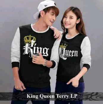 Baju Couple King and Qween