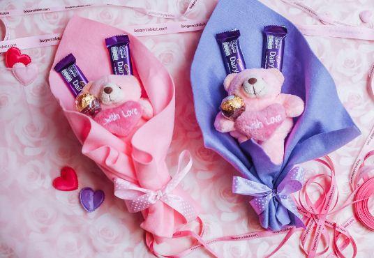 Buket coklat couple