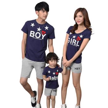 Baju Couple Boy Girl and Baby