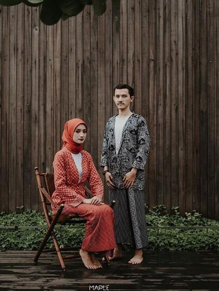 Konsep Foto Prewedding Hijab Romantis