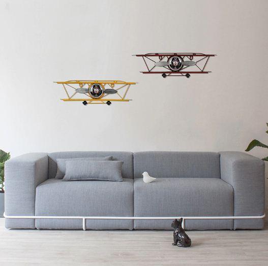 Jam Dinding Paling Antik Dengan Desain Pesawat 3D