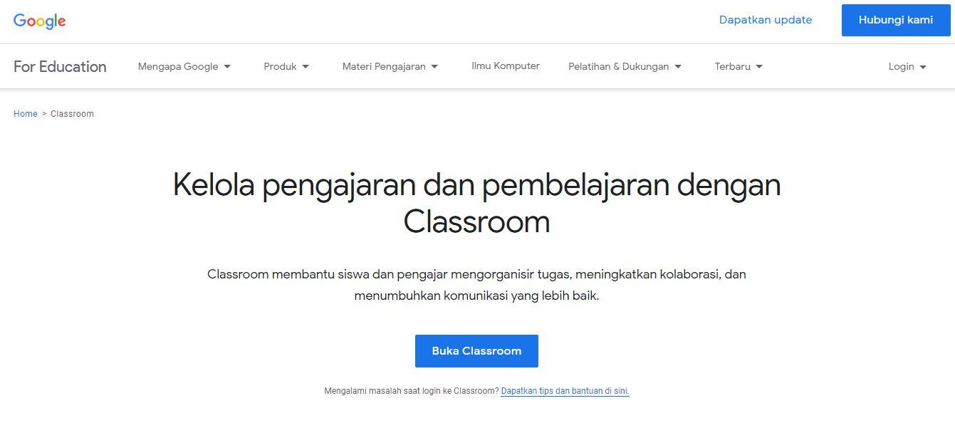 Aplikasi Belajar Online Google Suite For Education