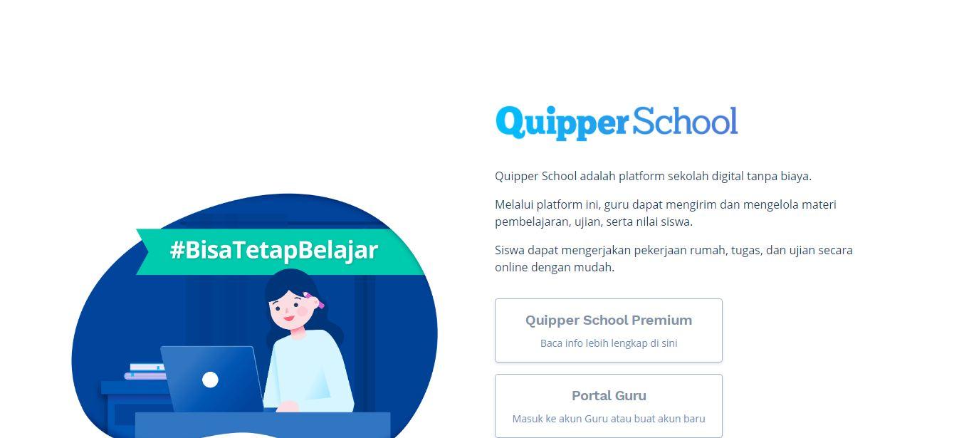 Aplikasi Belajar Online Quipper School