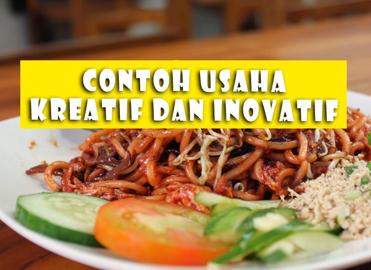Contoh Usaha Kreatif dan Inovatif