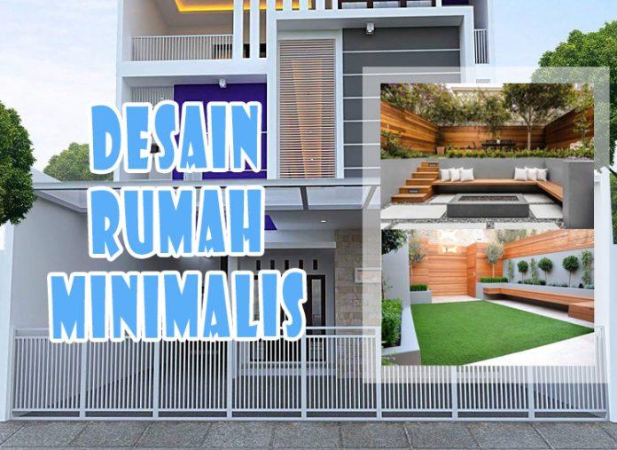 Desain Rumah Minimalis Tampak Depan Belakang Dan Samping Dengan Batu Alam