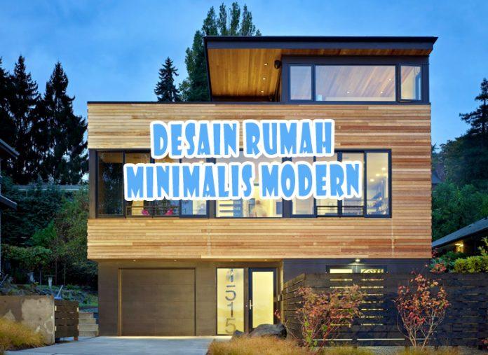 Desain Rumah Tampak Depan Minimalis 2 Lantai Modern Terbaru 2020