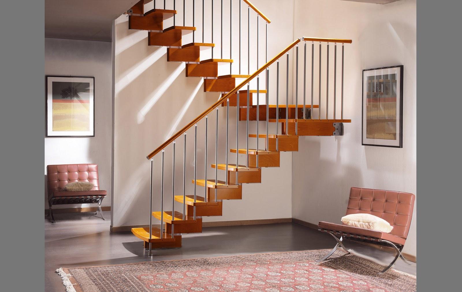 Desain Tangga Rumah 2 Tingkat