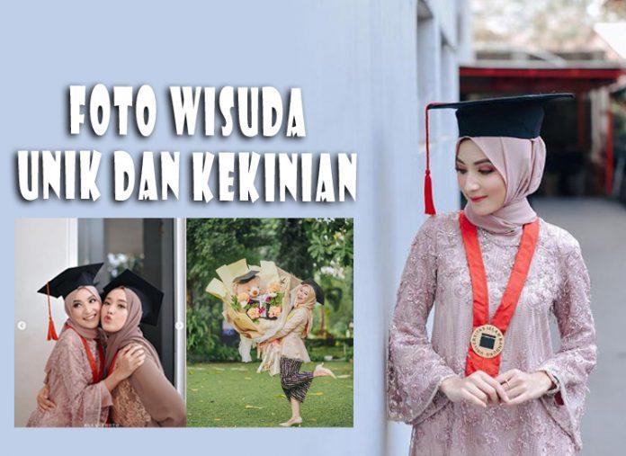 Foto Wisuda Anak Kuliah Unik Couple Kekinian Bareng Pacar Atau Keluarga