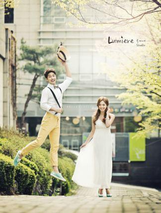 Gaya Foto Prewedding Ala Korea
