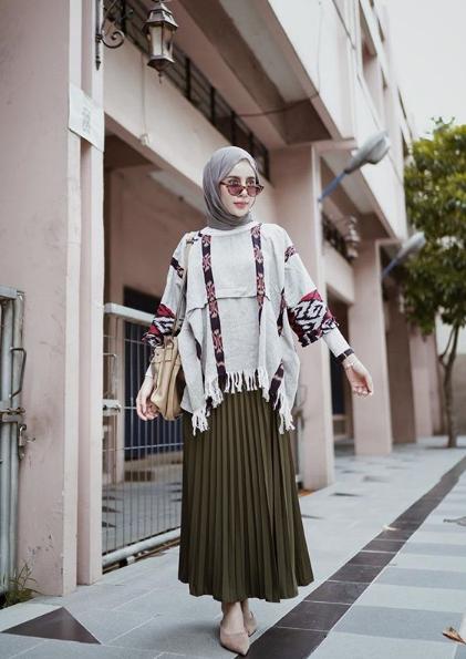 Hijab ala vintage pun terlihat kece