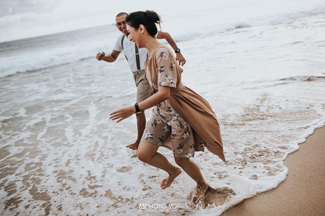 Konsep Prewedding Outdoor Pantai
