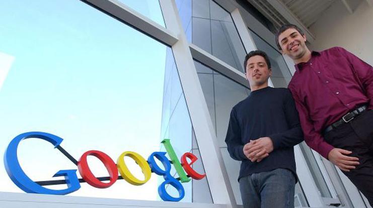 Larry Page dan Sergey Brin - Penemu Google.com via indosmartdigital.com