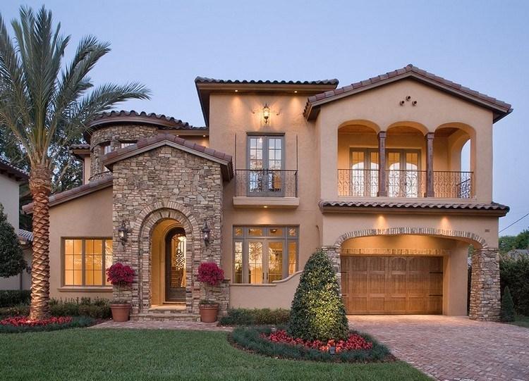 Model Rumah Minimalis Dengan Dinding Batu Alam