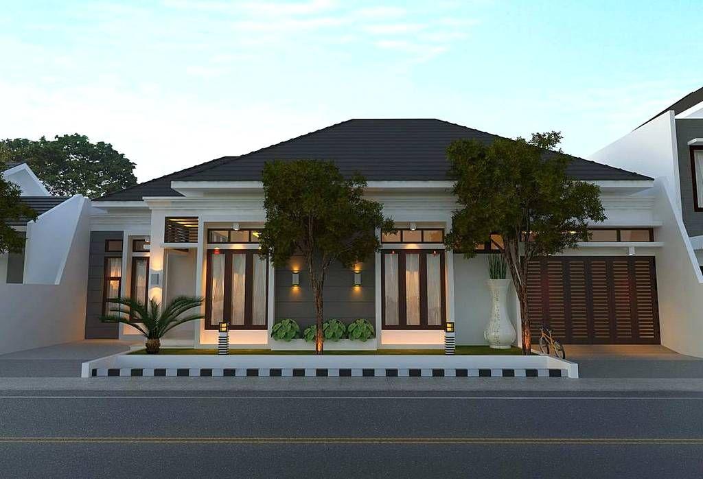 Model Rumah Minimalis Tampak Depan 1 Lantai