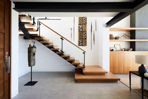 Model Tangga Rumah Minimalis 2 Lantai Terbaru