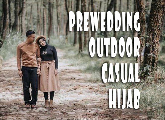 Prewedding Outdoor Casual Hijab