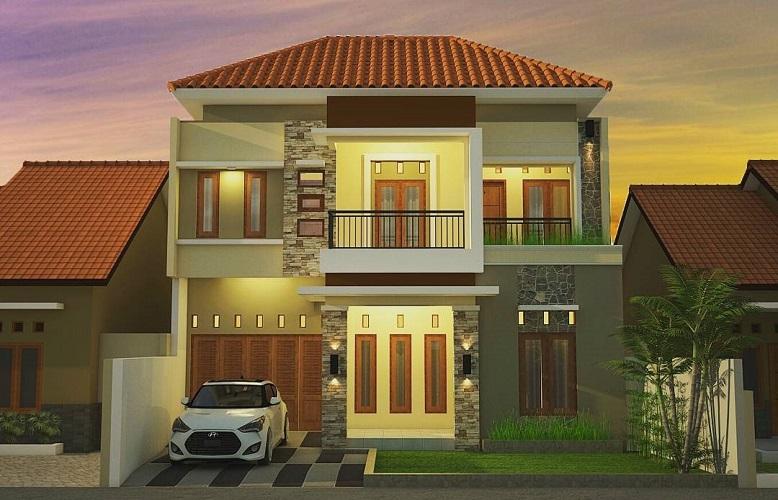 Rumah Minimalis 2 Lantai Terbaru 2020