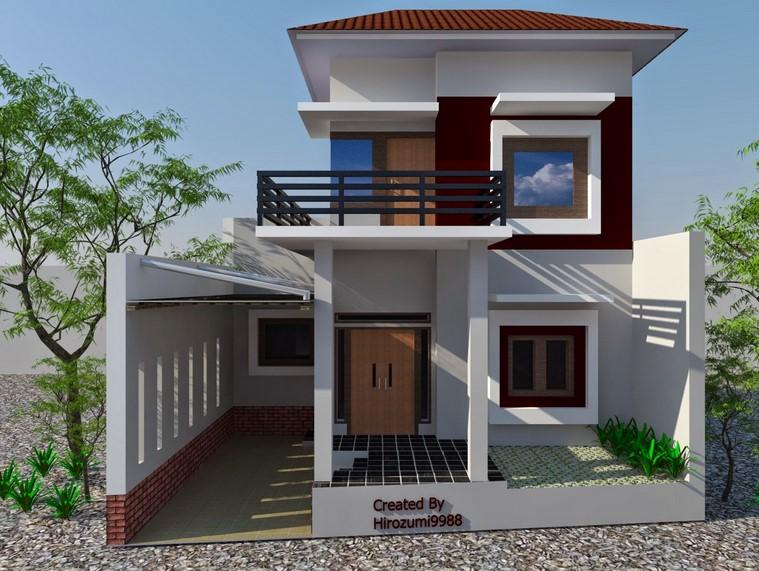 Rumah Minimalis 2 Lantai Type 36