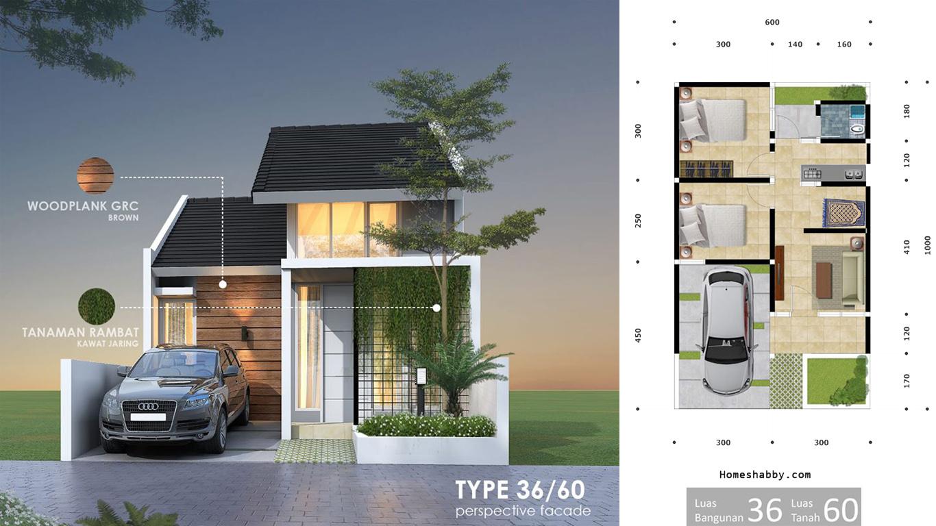Rumah Minimalis Modern Type 36