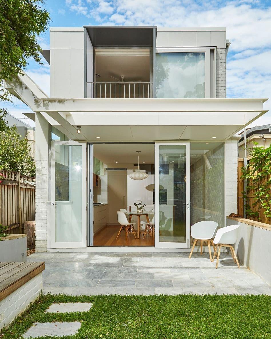 Desain Rumah Tampak Depan Minimalis 2 Lantai Modern Terbaru 2020 Portalkuningan Com
