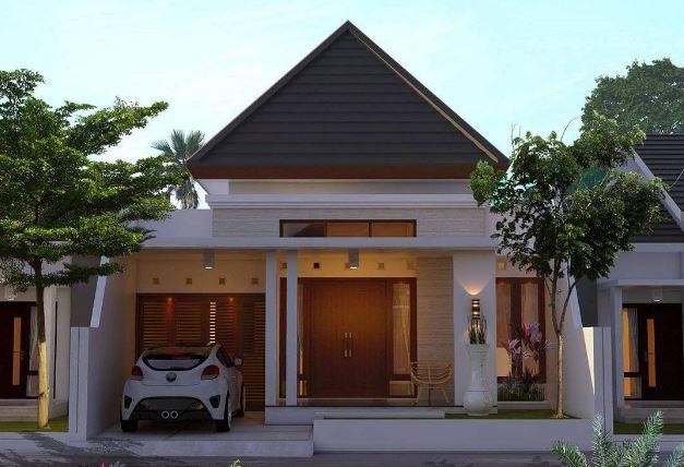 Tampak Depan Model Rumah Sederhana