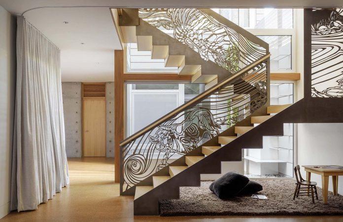 Tangga Rumah Mewah 2 Lantai Modern Kaca Minimalis Dan Unik