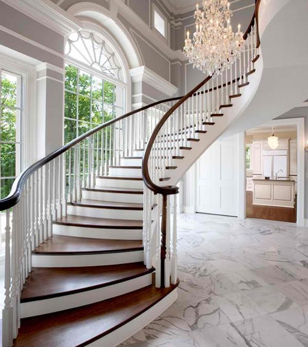 Tangga Rumah Mewah Klasik
