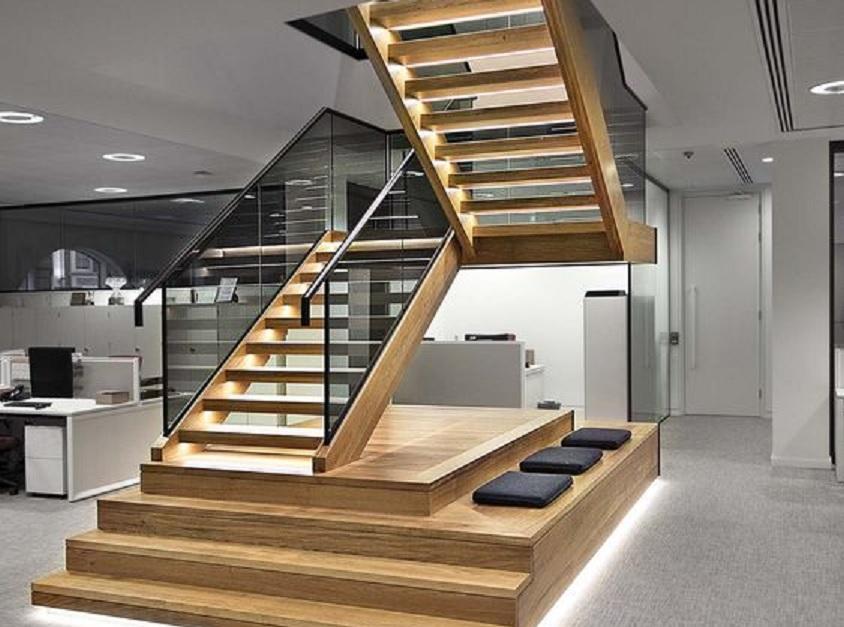 Tangga Rumah Mewah Minimalis Modern