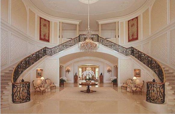 Tangga Rumah Mewah Modern Klasik