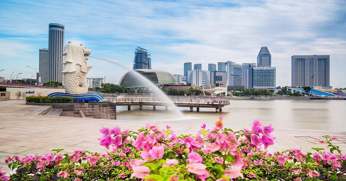 Untuk Liburan Ke Luar Negeri Merlion Park Singapura Cocok Masuk List Liburan Akhir Tahun