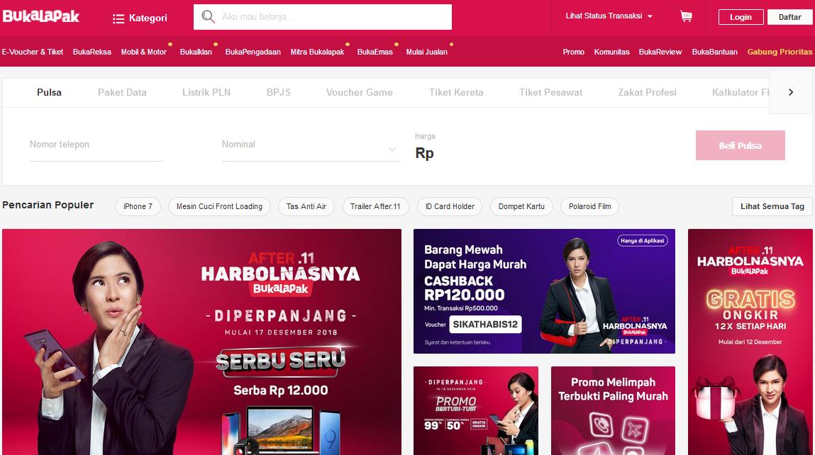 Daftar Bisnis Online Marketplace Terpopuler Di Indonesia