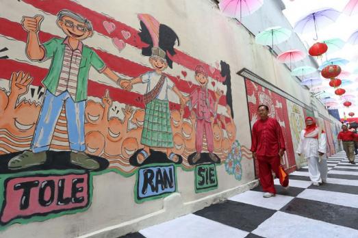 Hidup berdampingan dalam perbedaan Kampung Toleransi