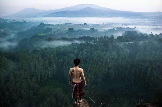 Spot instagramable di Tebing Keraton